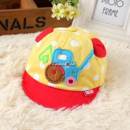 Tractor Design Baby Cap