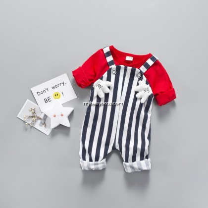Mickey Helping Hand Toddler Jumpsuit
