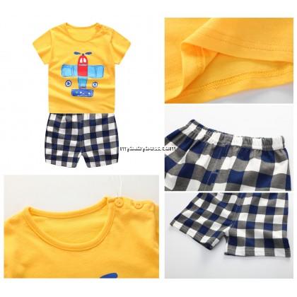 Airplane Clothing Set (Yellow)