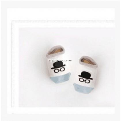 Korean Style Anti-slip Baby Hidden Sock - Hat