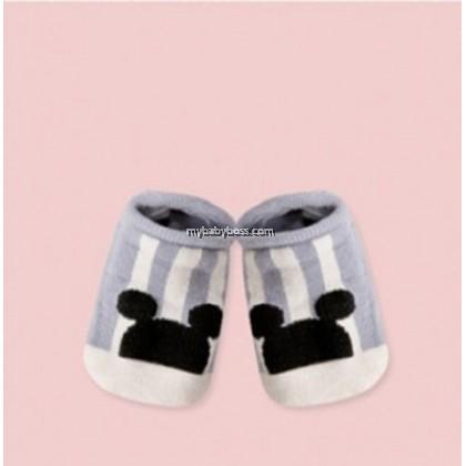 Korean Style Anti-slip Baby Hidden Sock - Mickey