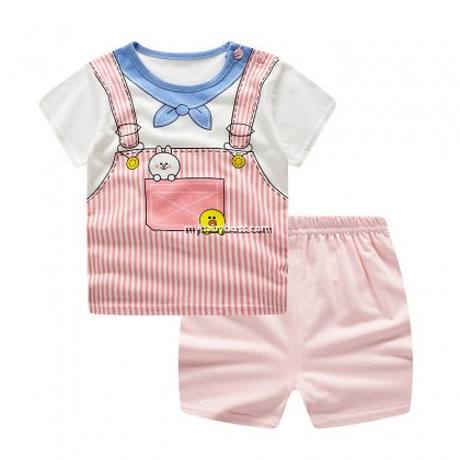 FM00258 Cute Rabbit Matching Set (Pink)