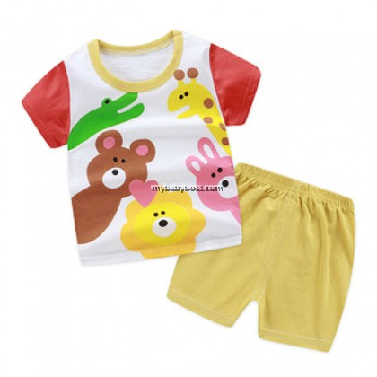 FM00265 In The Zoo Matching Set (White base)