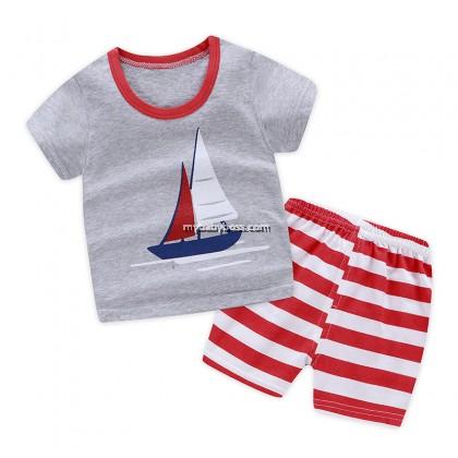 FM00271 Sailboat Matching Set (Grey)