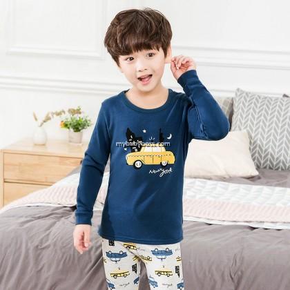 FN00277 NY Yellow Taxi Toddler Sleepwear