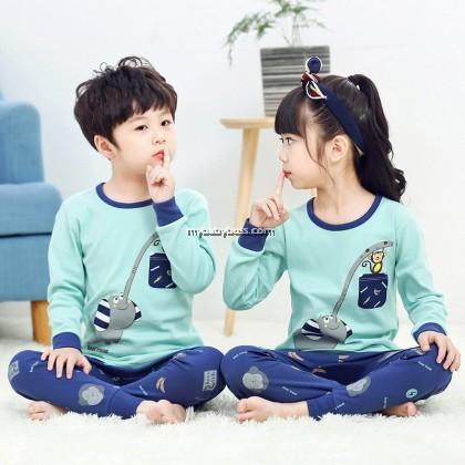 FN00281 Elephant & Monkey Toddler Sleepwear
