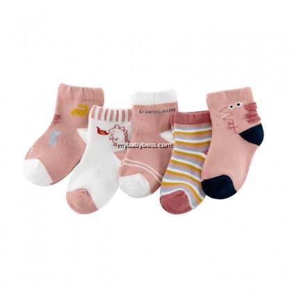 FS302 Fire-breathing Dinosaur Toddler socks