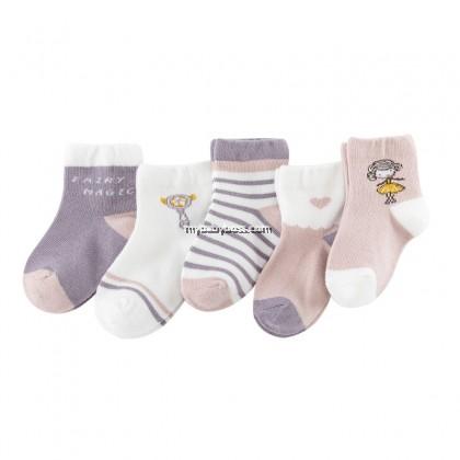 FS309 Fairy & Magic Wand Toddler socks