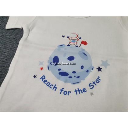 FR325LK Reach For The Star Baby Romper