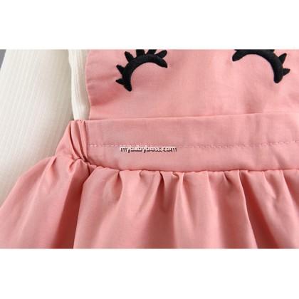 Cute Rabbit Girl Jumper Dress